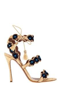 Босоножки с вышивкой Iris Tabitha Simmons