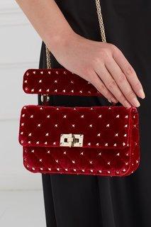 Бархатная сумка Valentino