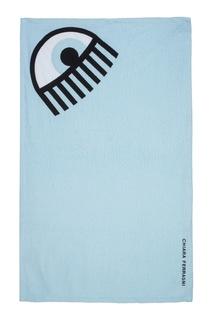 Хлопковое пляжное полотенце Chiara Ferragni