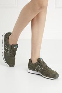 Замшевые кроссовки №996 New Balance