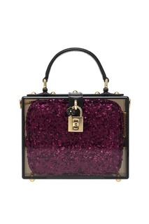 Сумка с пайетками Dolce&Gabbana