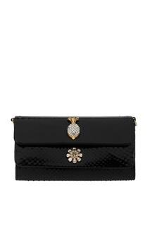 Клатч из кожи питона Dolce&Gabbana