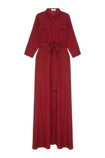 Шелковое платье Laroom