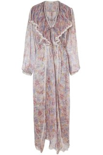 Пеньюар с цветочным принтом (70-е гг.) Christian Dior Vintage