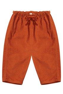 Хлопковые брюки Carnelian Baby Caramel Baby&Child