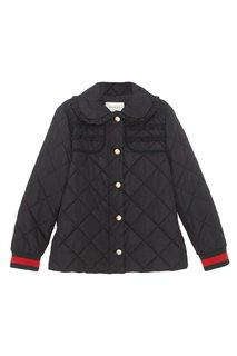 Однотонная куртка Gucci