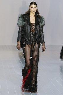 Полупрозрачное платье Marc Jacobs