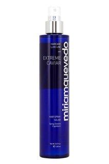 Солнцезащитный спрей для волос экстрактом черной икры Extreme Caviar Hair Spray Solar, 250ml Miriamquevedo
