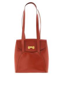 Кожаная сумка (80-е) Nina Ricci Vintage