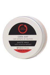 Матирующий воск для волос с экстрактом лакрицы Matte Wax, 50ml Aldo Coppola