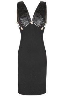 Шерстяное  платье (90-е) Gianni Versace Vintage
