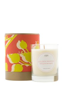 Ароматическая свеча Golden Mimosa Kobo Candles