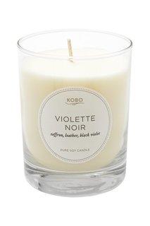 Ароматическая свеча Violette Noir 312гр. Kobo Candles