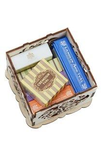 Подарочный набор «Королевское мыло» Victoria Soap