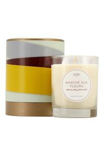 Ароматическая свеча Marche Aux Fleurs, 312гр. Kobo Candles