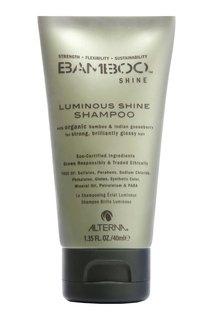 Шампунь для блеска волос Bamboo Luminous Shine 40ml Alterna