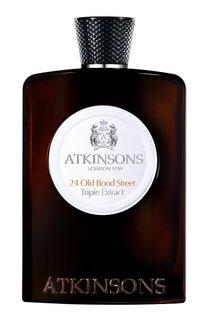 Одеколон 24 Old Bond Street Triple Extract 100ml Atkinsons