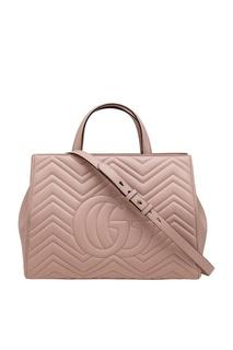 Кожаная сумка Marmont Gucci