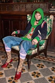 Хлопковое худи Gucci