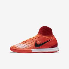 Футбольные кроссовки для игры в зале/на поле для школьников Nike Jr. MagistaX Proximo II (4Y–6Y)