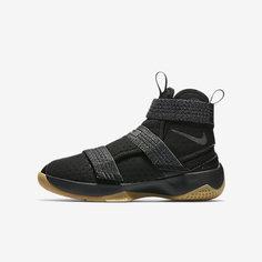 Баскетбольные кроссовки для школьников Nike LeBron Soldier 10 FlyEase
