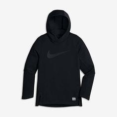 Баскетбольная худи для мальчиков школьного возраста Nike Dry Elite Shooter (XS–XL)