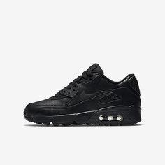 Кроссовки для школьников  Nike Air Max 90 Leather (3.5Y–7Y)