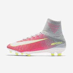 Женские футбольные бутсы для игры на твердом грунте Nike Mercurial Superfly V