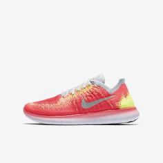 Беговые кроссовки для школьников Nike Free RN Flyknit 2017