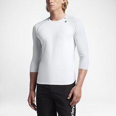 Мужская футболка для серфинга Hurley Dry Icon с рукавом 3/4 Nike