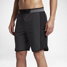 Мужские бордшорты Hurley Phantom Hyperweave Motion Stripe 45,5 см Nike