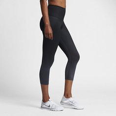Женские капри для тренинга с высокой посадкой с принтом Nike Zonal Strength