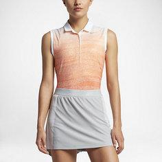 Женская рубашка-поло для гольфа без рукавов Nike Precision