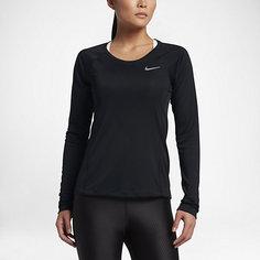 Женская беговая футболка с длинным рукавом Nike Dry Miler
