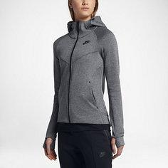 Женская худи с полноразмерной молнией Nike Sportswear Tech Fleece