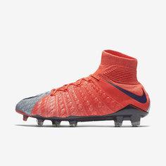 Женские футбольные бутсы для игры на твердом грунте Nike Hypervenom Phantom 3 DF FG