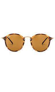 Солнцезащитные очки round fleck - Ray-Ban