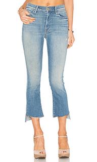 Укороченные джинсы inside crop step fray - MOTHER