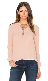Блуза с плиссировкой trina - Greylin