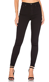 Супер стрейчевые узкие джинсы высокой посадки kendall - GRLFRND