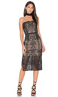 Вышитое платье с декольте tatiana - aijek