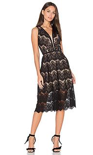 Кружевное миди-платье loyola - aijek