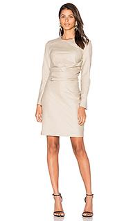 Шелковое цельнокроеное платье - cacharel