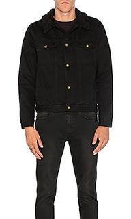 Джинсовая куртка с подкладкой из искусственной шепры - ROLLAS Rollas
