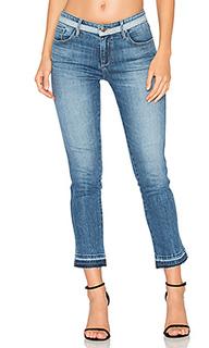 Облегающие укороченные джинсы средней посадки - Frankie
