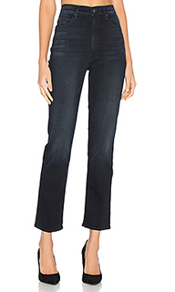 Укороченные прямые джинсы swooner rascal - MOTHER