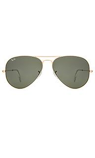 Солнцезащитные очки авиатор large classic - Ray-Ban