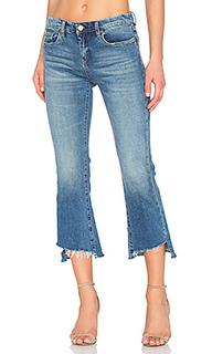 Прямые джинсы с неровнообрезанным низом - BLANKNYC