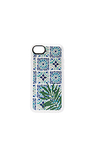 Чехол для iphone 7 tropical leave moroccan tiles - Casetify
