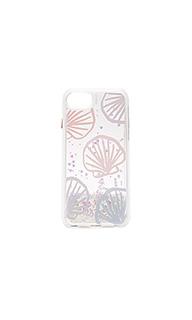 Блестящий кейс для iphone 7 seashell scape - Casetify